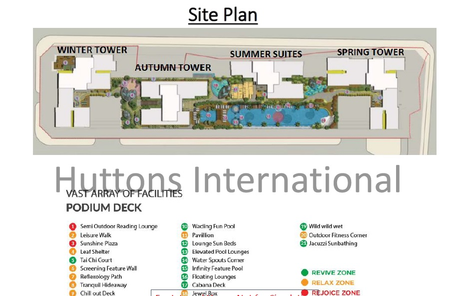 Season Avenue Hanoi_Site Plan