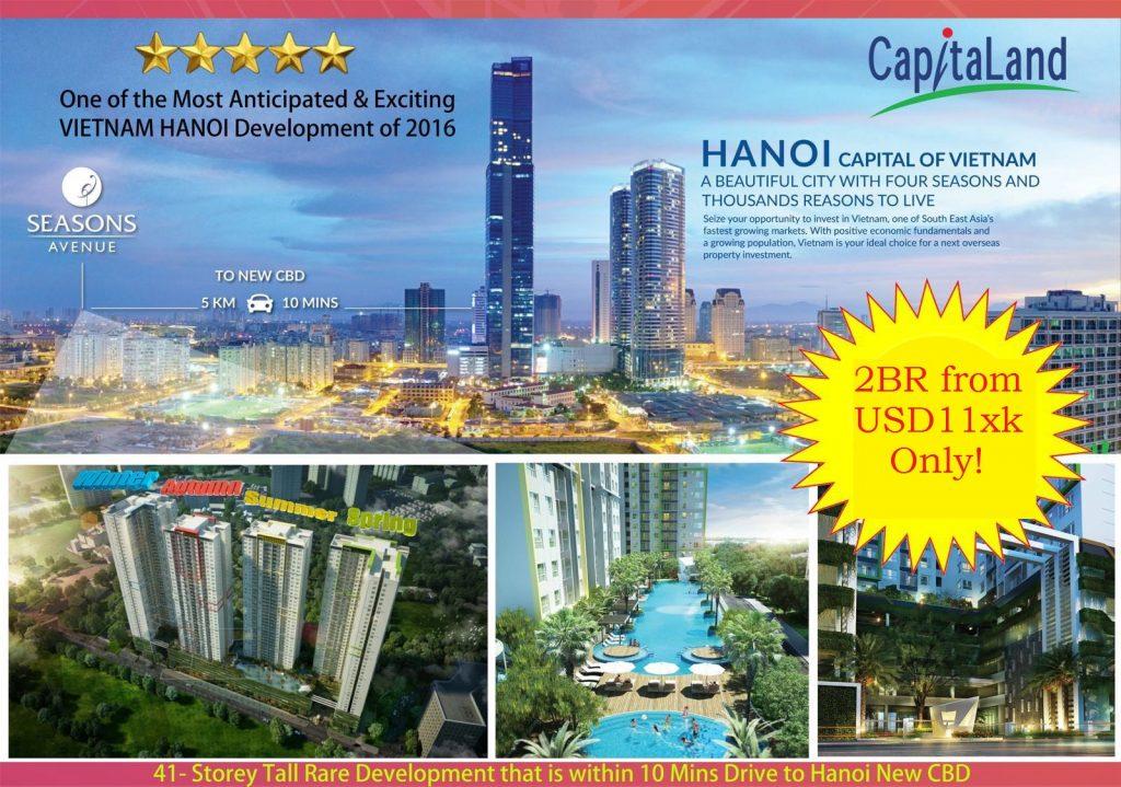 Seasons Avenue Hanoi Capitaland