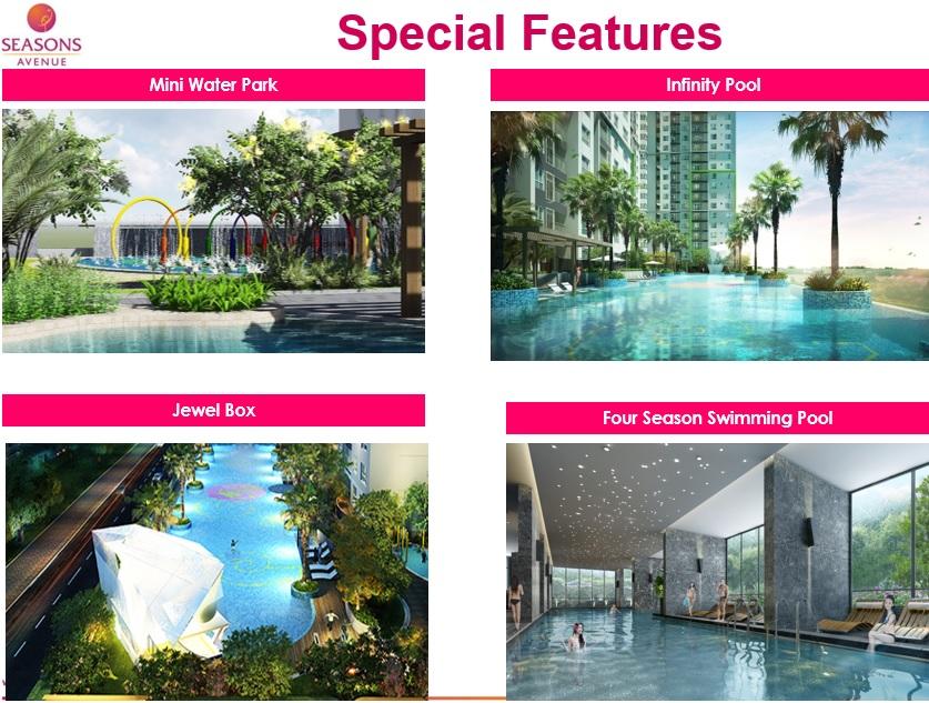 Seasons Avenue Hanoi Facilitie