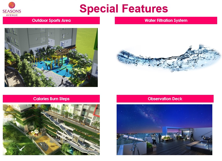 Seasons Avenue Hanoi Facilities