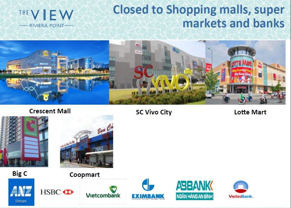 The View Riviera Point Vietnam Location Amenities_Shopping