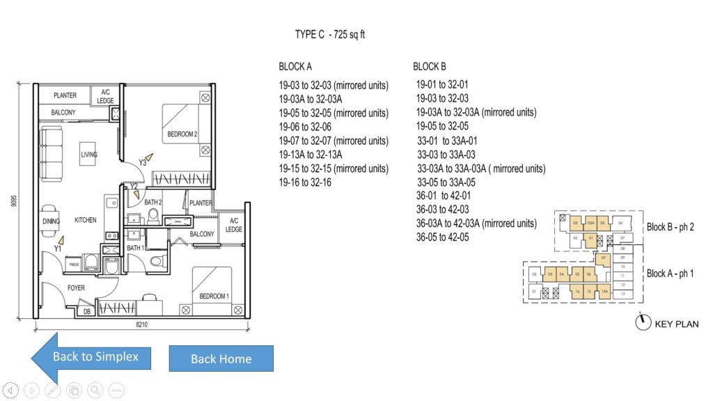 The Luxe KL Floor Plan