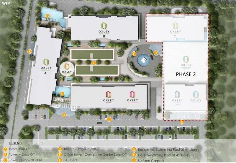 Oxley Convention City Phase Plan