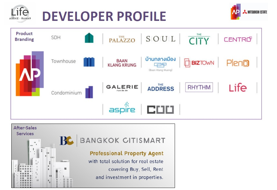 Life Asoke Rama 9 Developer Profile