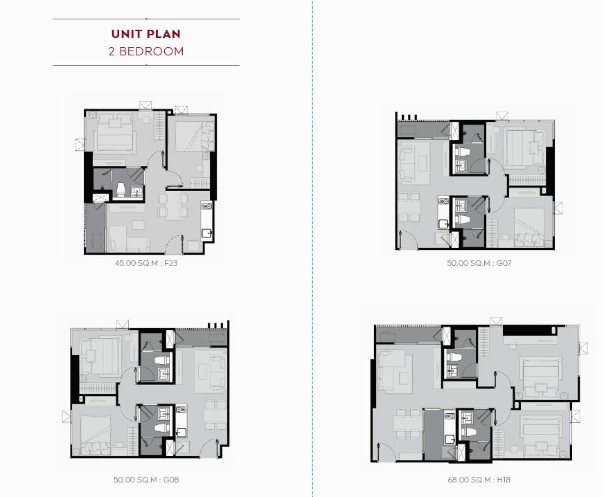 Life Sukhumvit 62 Floor Plan_2BR