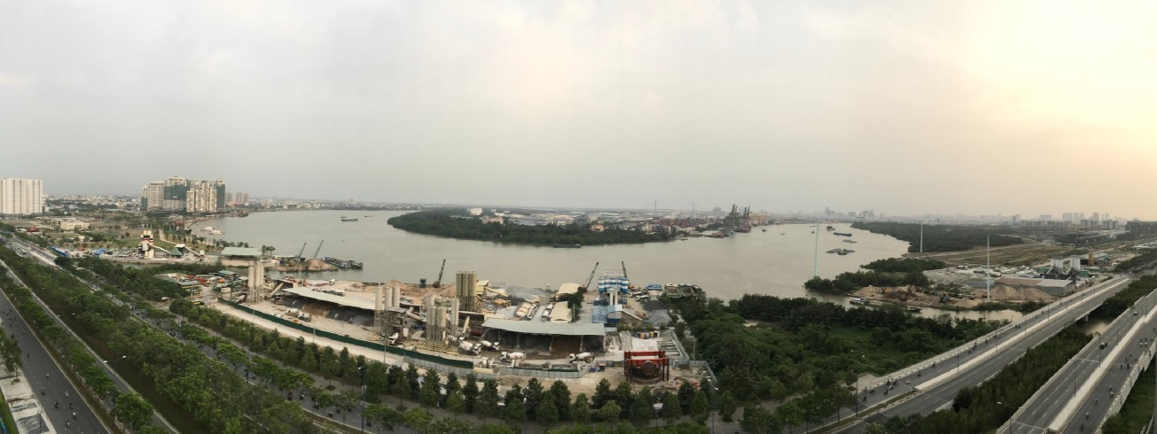 New City HCMC Saigon River Facing