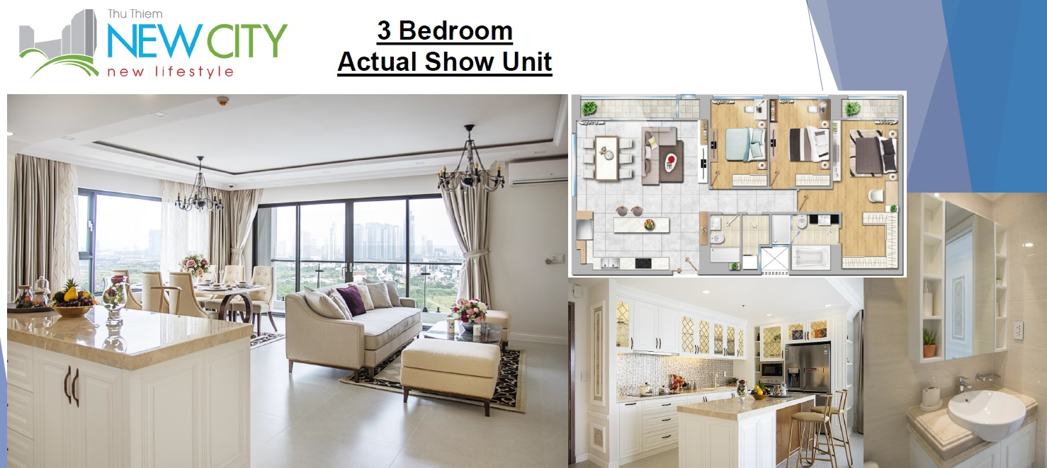 New City Thu Thiem HCMC_3BR Actual Show Unit
