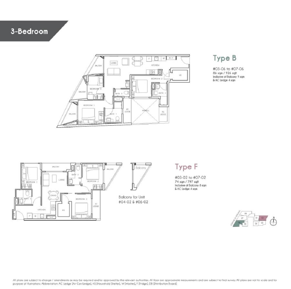 rezi 35 thirty five site plan iDEAL Property – Site Plan Abbreviations