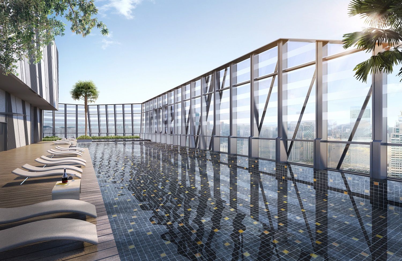 So Sofitel Kuala Lumpur Residences Swimming Pool