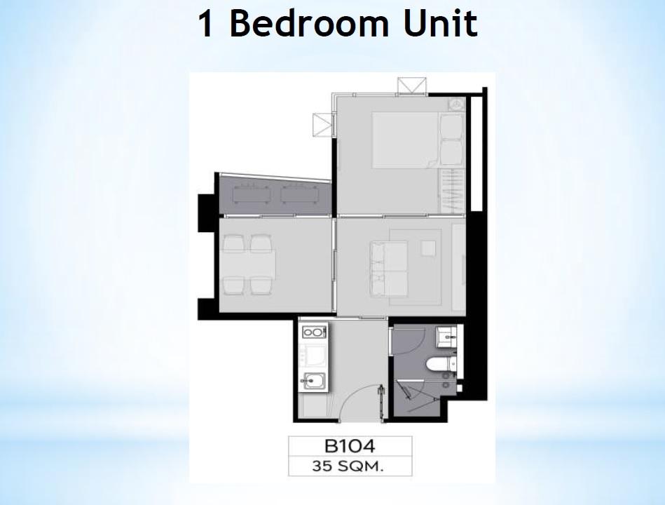 Life Ladprao Valley Floor Plan 1