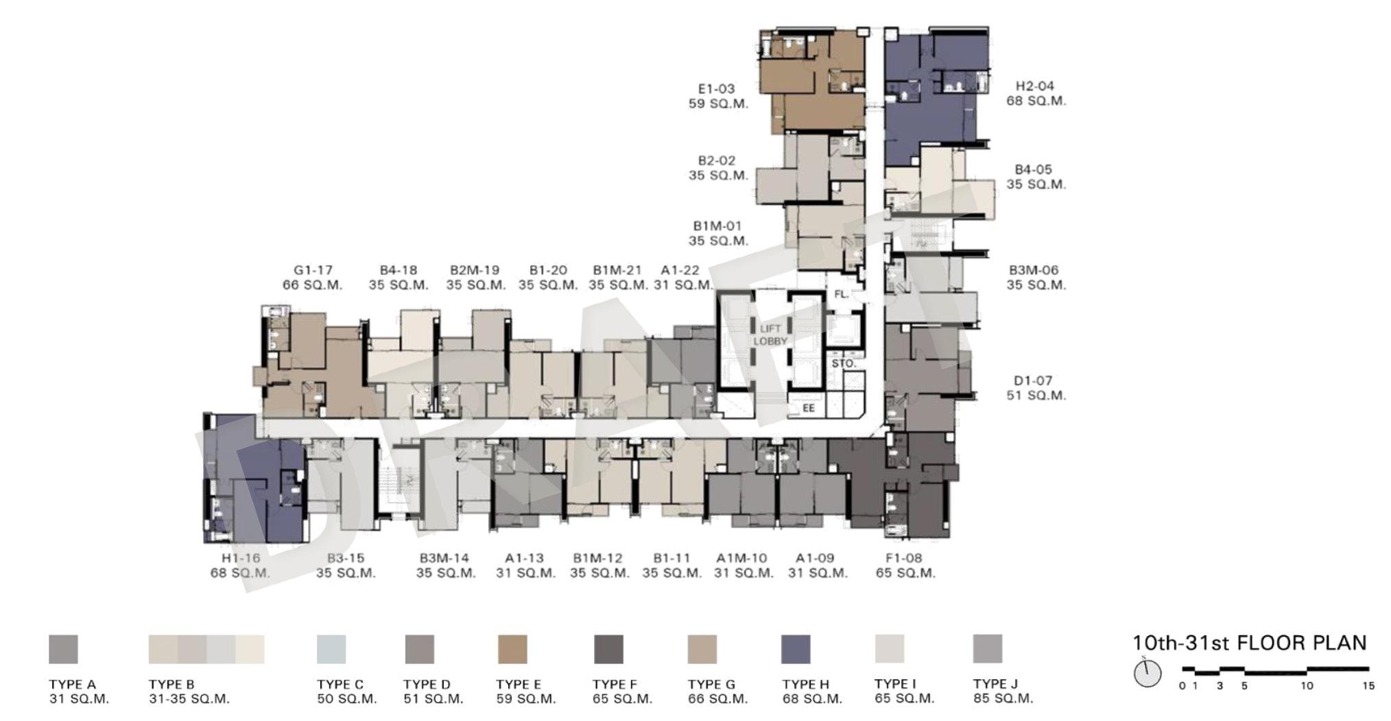 Siam-Rachathewi-10-13th-floor-Site-Plan