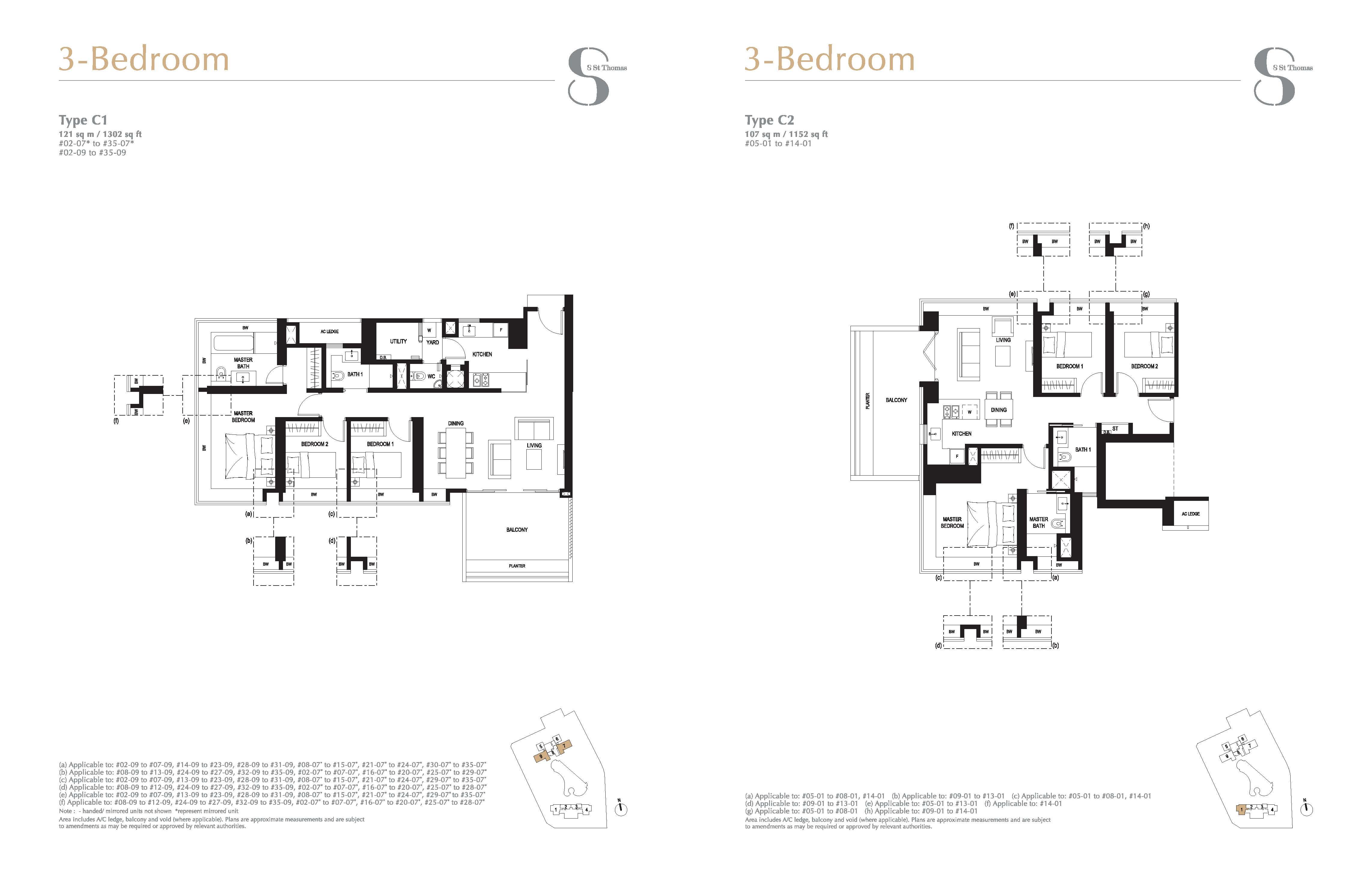 8 St Thomas Floor Plan