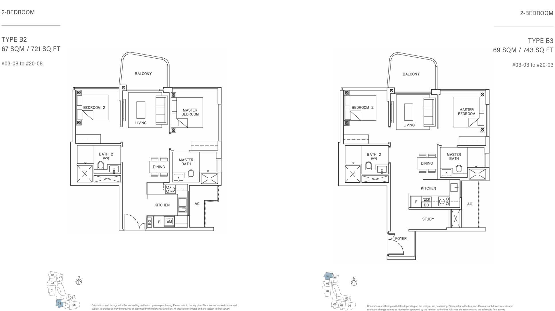 Coastline Residences Floor Plan 2