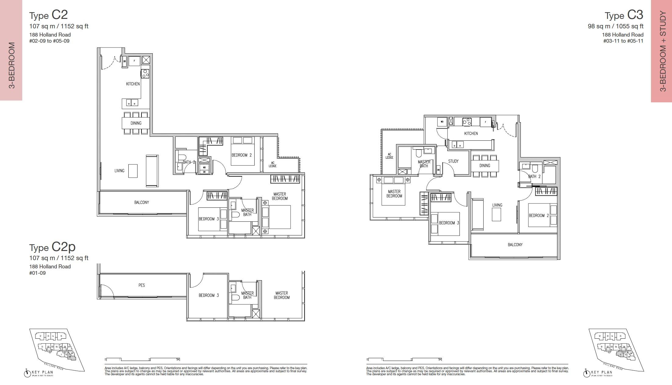 Van Holland Floor Plan 3br